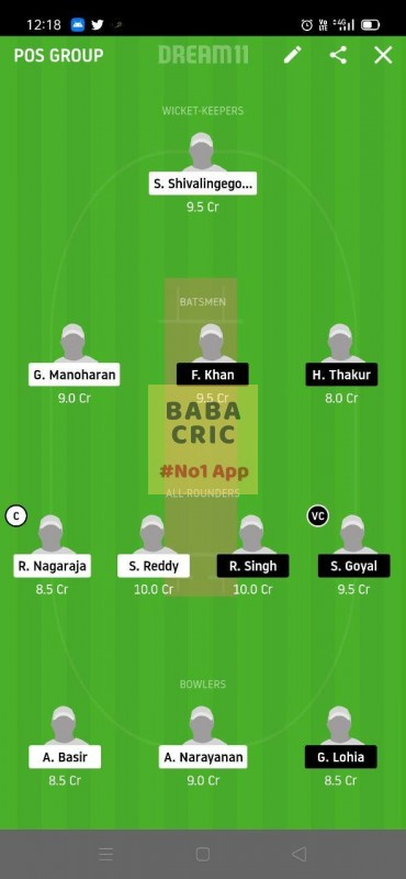 USGC vs BSVB (ECS T10 Dresden) Dream11 Grand League Team 4