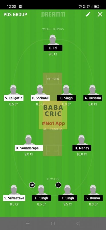 MBCC vs GCC (ECS T10 Barcelona) Dream11 Grand League Team 3