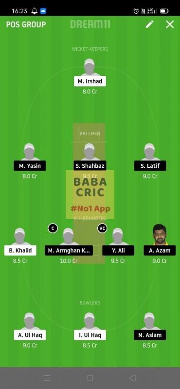HCCS vs CTL (ECS T10 Barcelona) Dream11 Grand League Team 5