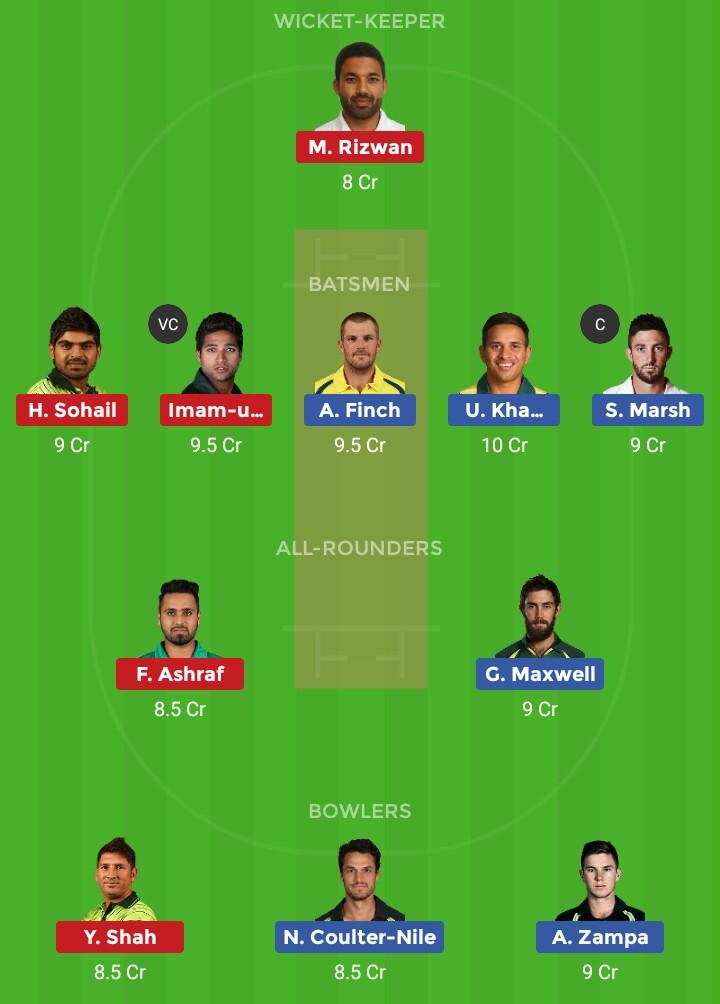 AUS vs PAK (Pakistan vs Australia ODI 2nd Match)