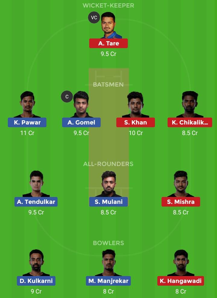 AT vs ETS (T20 Mumbai at vs tk)