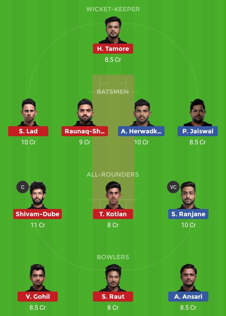 AA vs SPL (T20 Mumbai aa vs spl)