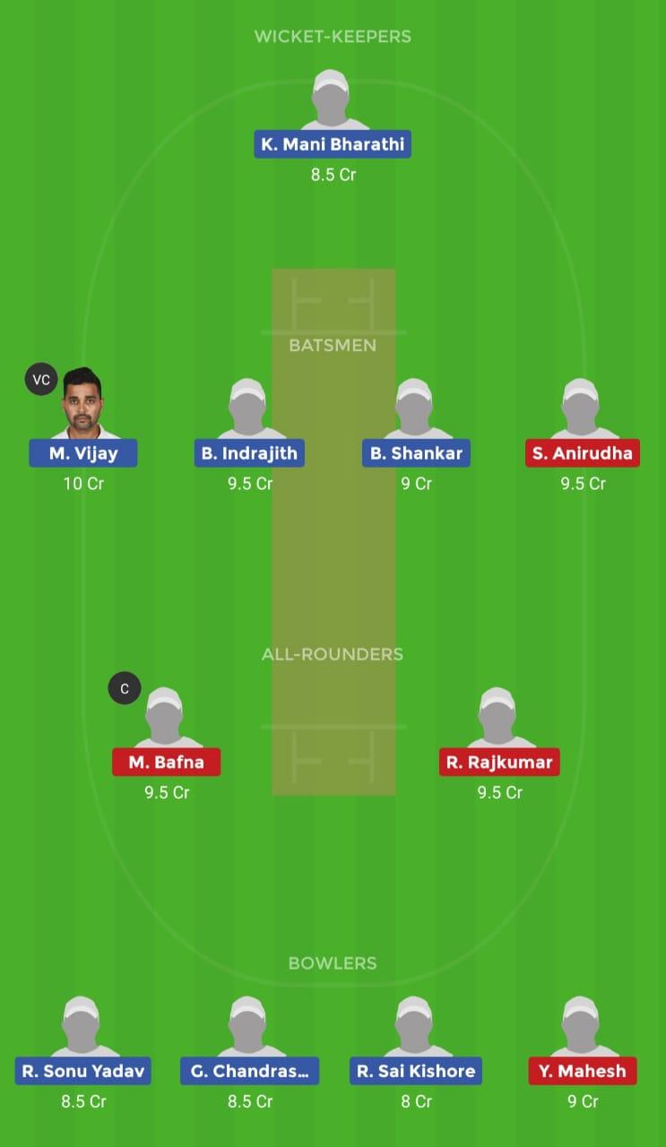 RUB vs KAR (Tamil Nadu T20 TNPL 2019)