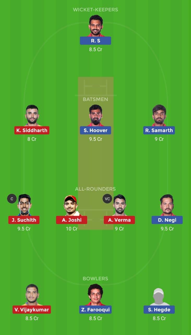 BP vs MW (Karnataka Premier League)