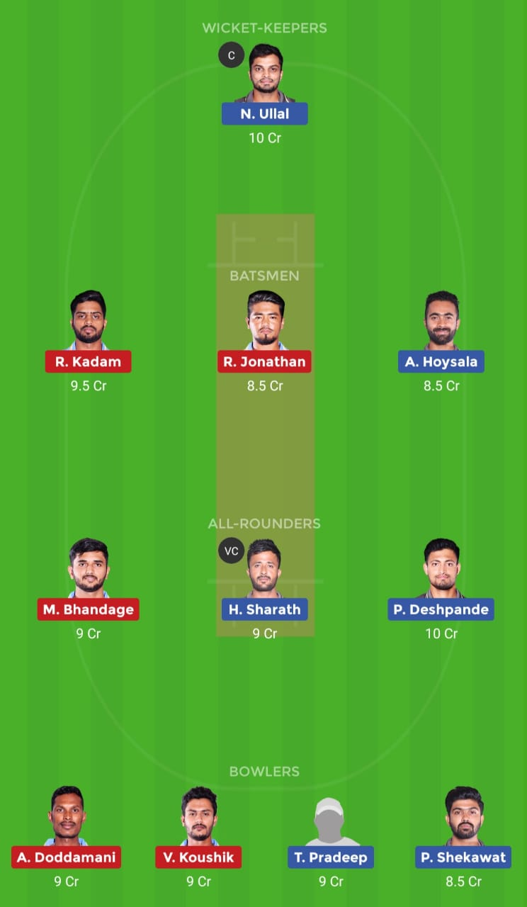 SL vs BB (Karnataka Premier League)