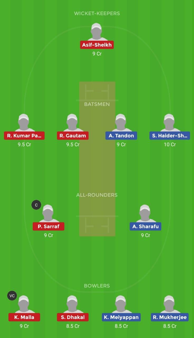 UAEY vs NPY (U19 Asia Cup)