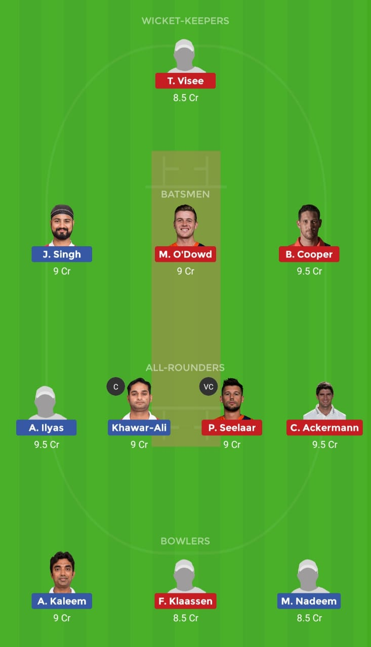 OMN vs NED (Oman T20I Series)