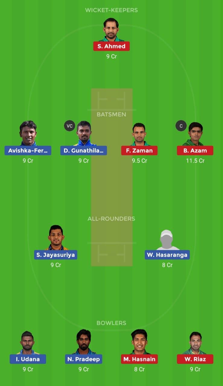 SL vs PAK (3rd T20I match)