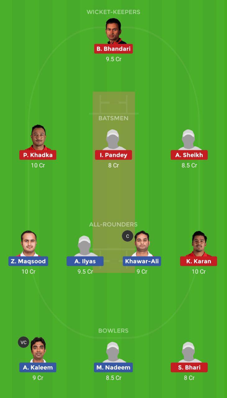 OMN vs NEP (Oman T20I Series)