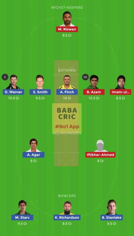 AUS vs PAK (3rd T20I match)