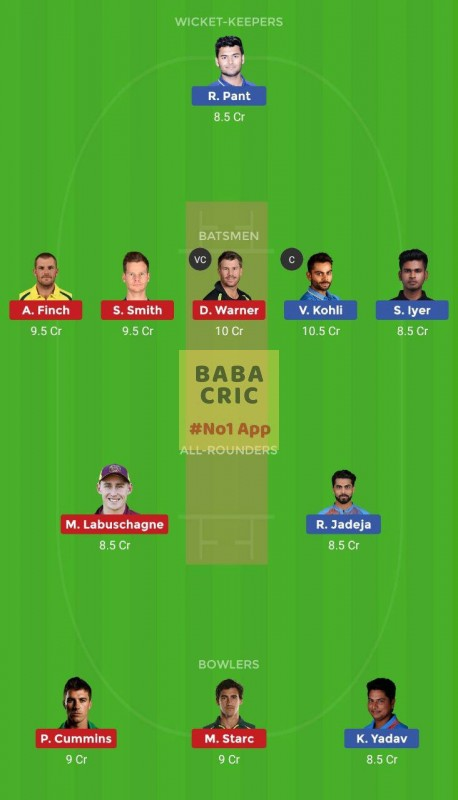 IND vs AUS (1st ODI Match)