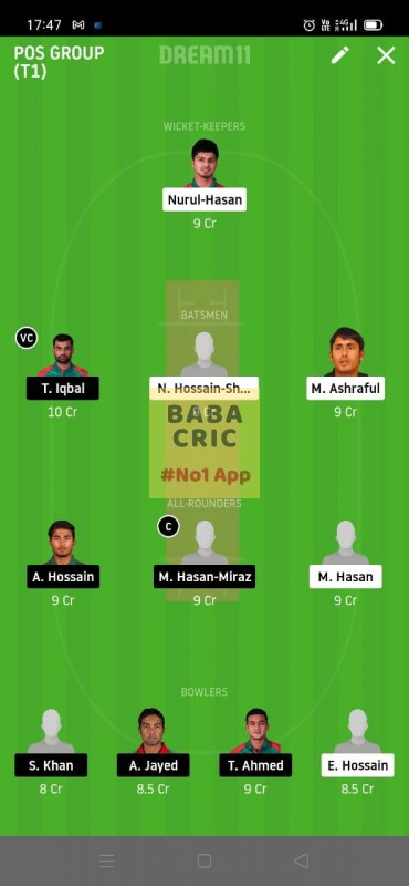 MRA vs FBA (Bangladesh T20)