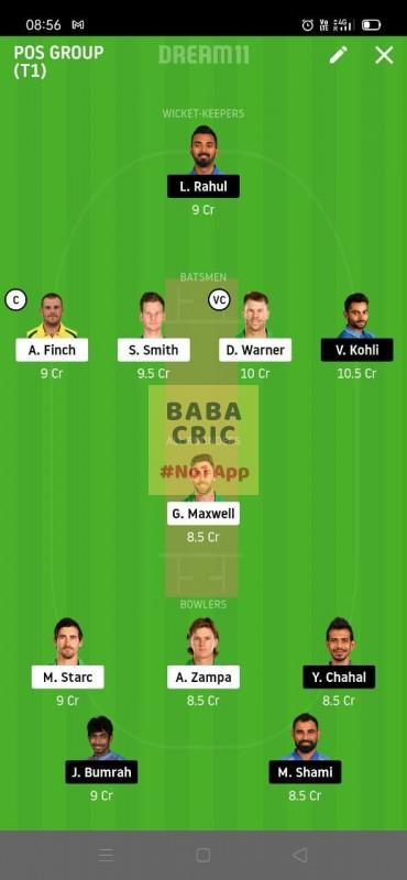 AUS vs IND (2nd ODI Match)