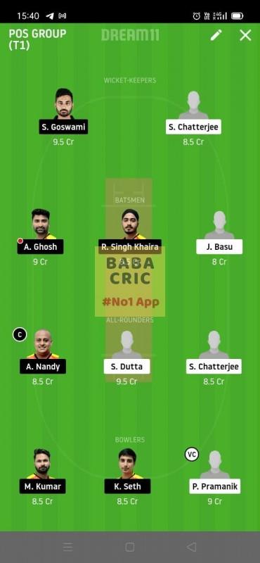 KAC vs EBC (Roxx Bangal T20 challenge)