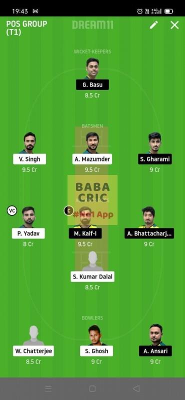 MBC vs TOC (Roxx bangal T20 Challenge)