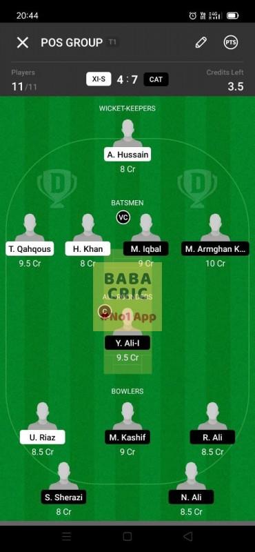 XIS vs CAT (ECS T10- Barcelona)