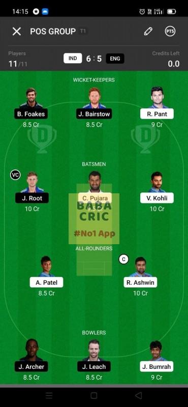 IND vs ENG - 3rd Test