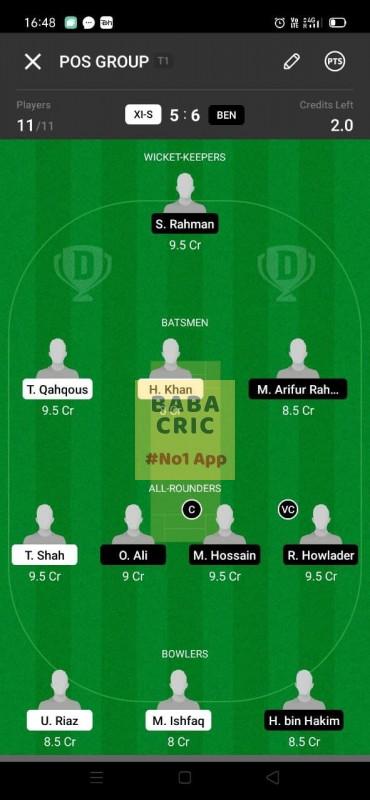 XIS vs BEN (ECS T10- Barcelona)