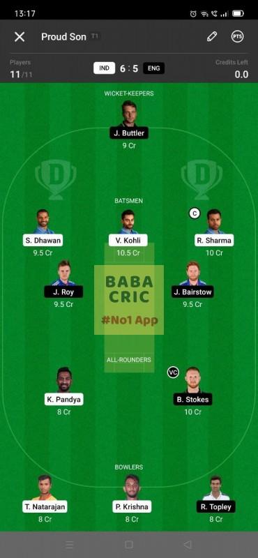 IND vs ENG - 3rd ODI