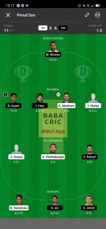 SA vs PAK - 3rd ODI