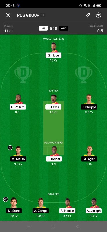 WI vs AUS 3rd ODI