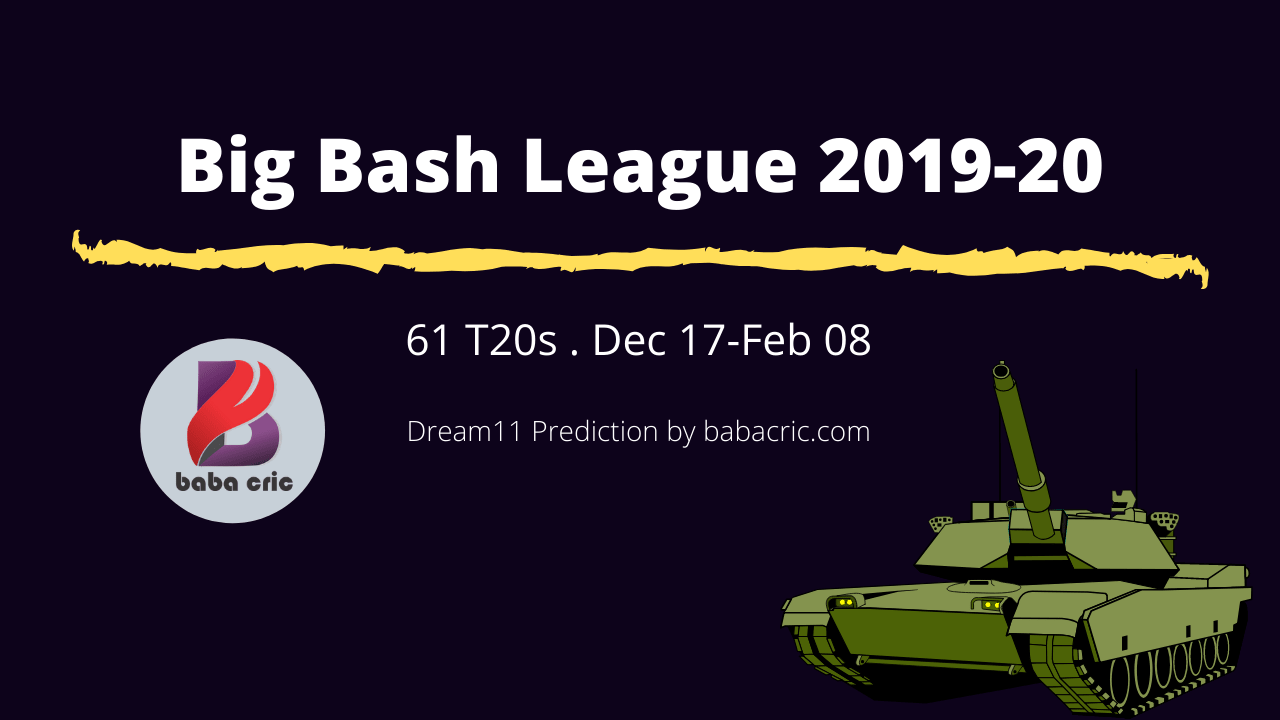 Big Bash League 2019-20