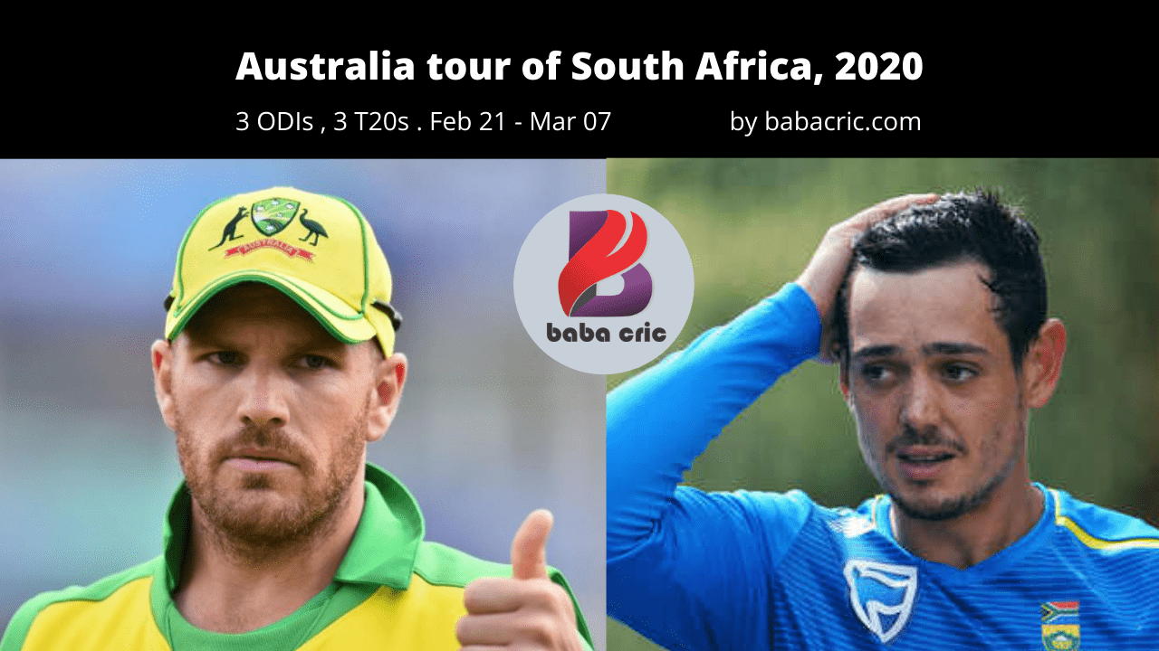 SA vs AUS (1st T20I Match)