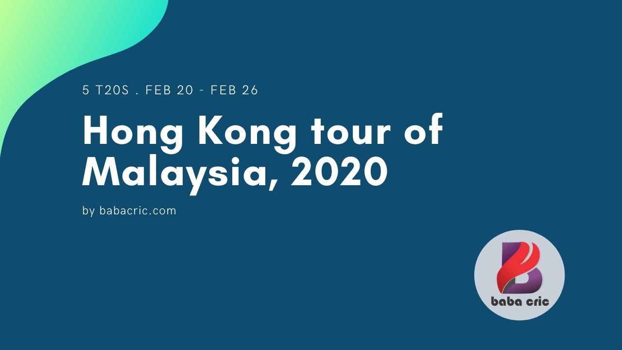 HK vs MAL (ACC Eastern Region T20 2020)