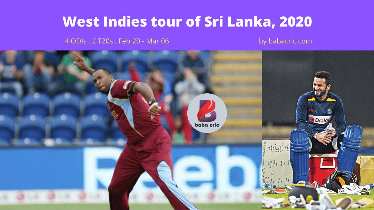 SL vs WI (1st ODI Match)
