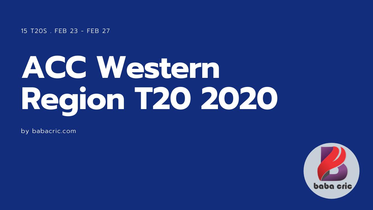 QAT vs UAE (ACC Western Region T20 2020)