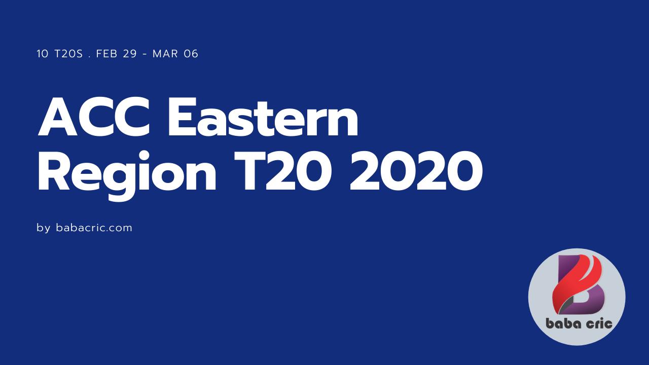 MAL vs SIN (ACC Eastern Region T20 2020)