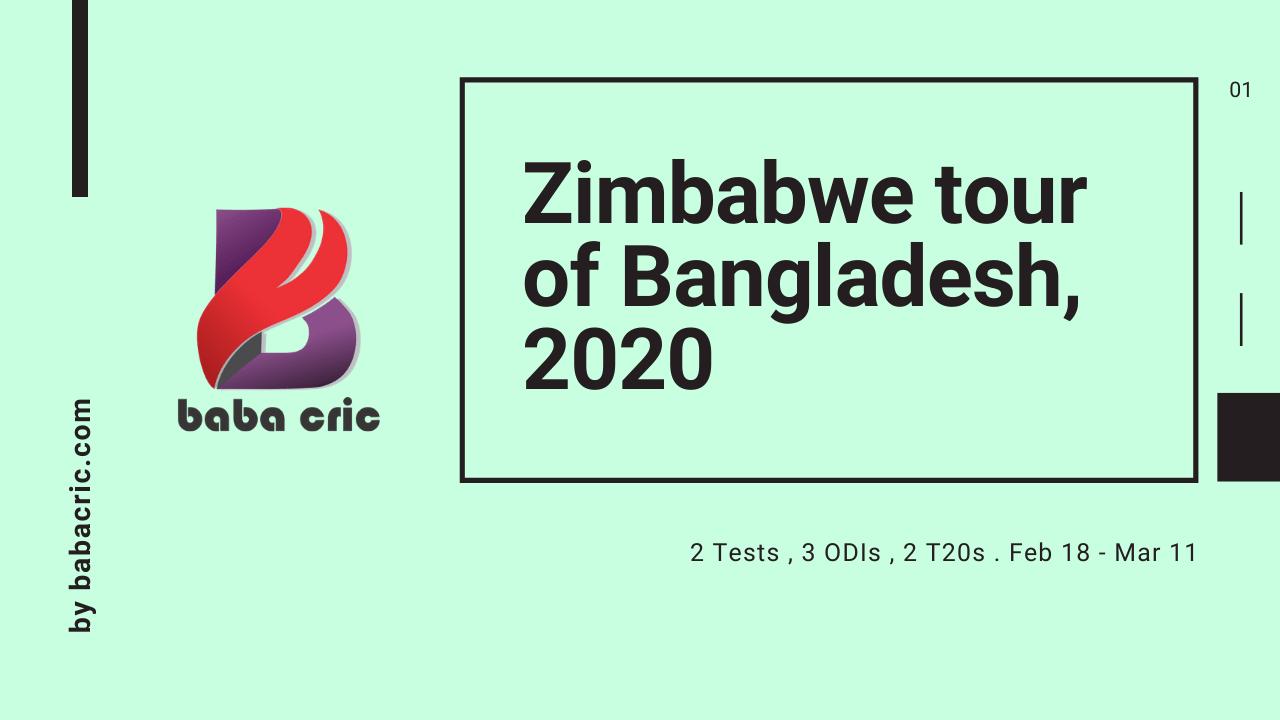 BAN vs ZIM (1st T20I match)