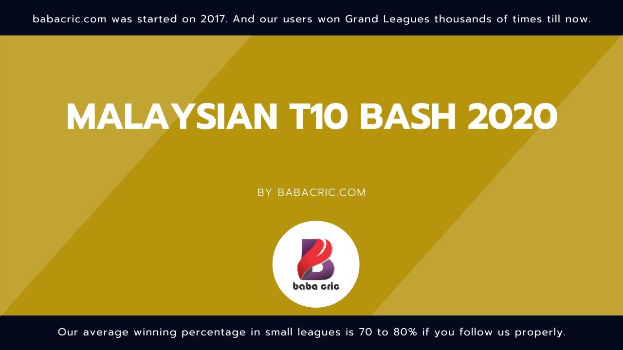 SH vs CS (Malaysian T10 Bash)