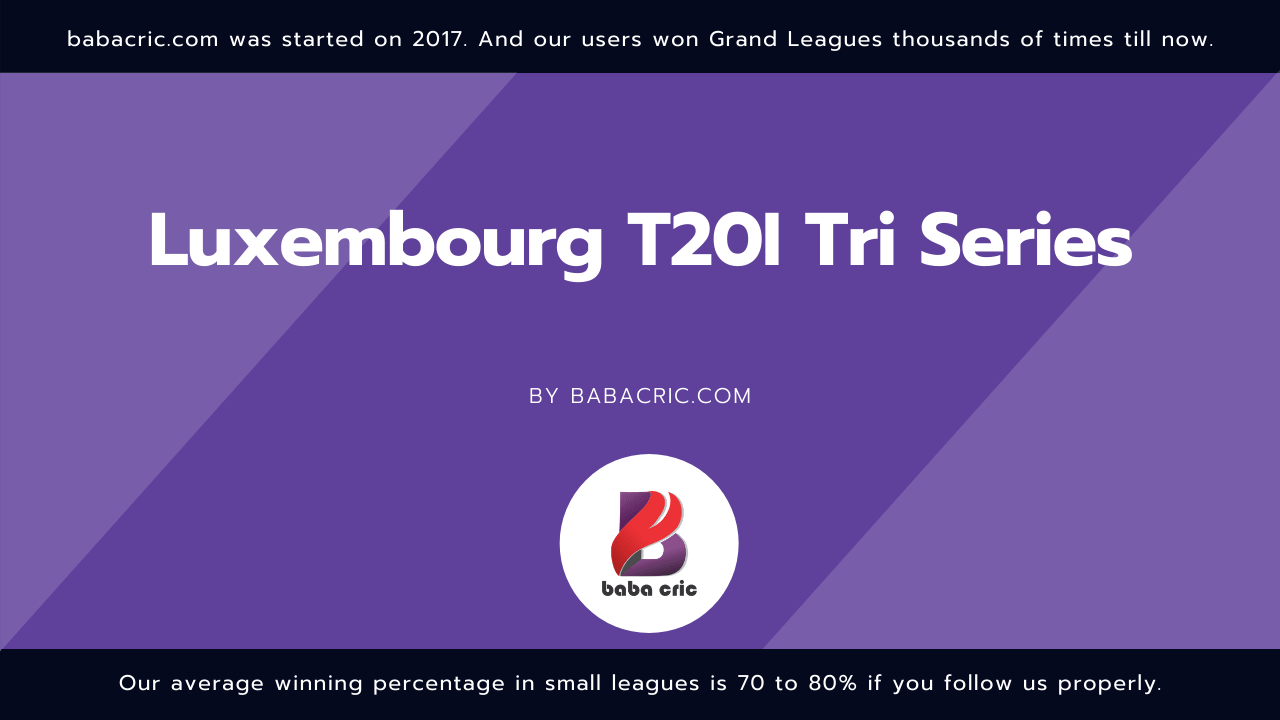 Luxembourg T20I Tri Series