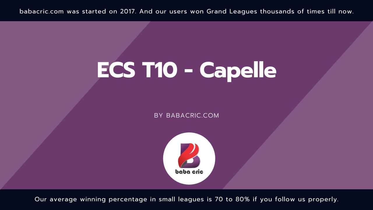 SPC vs EXC (ECS T10 Capelle)