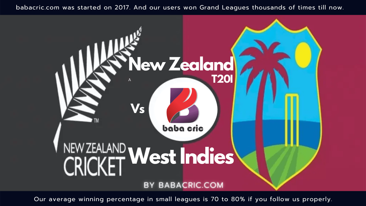 NZ vs WI 2nd T20I
