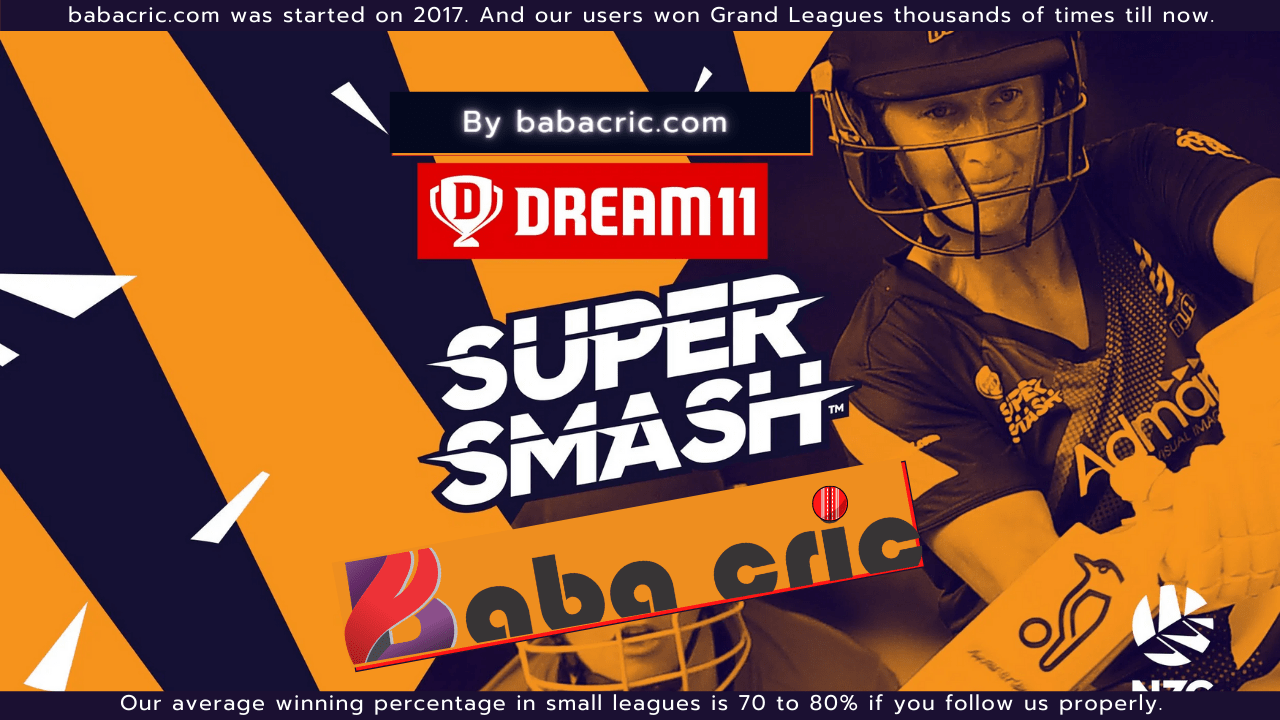 NS-W vs CM-W( ( Dream11 women Super Smash T20)