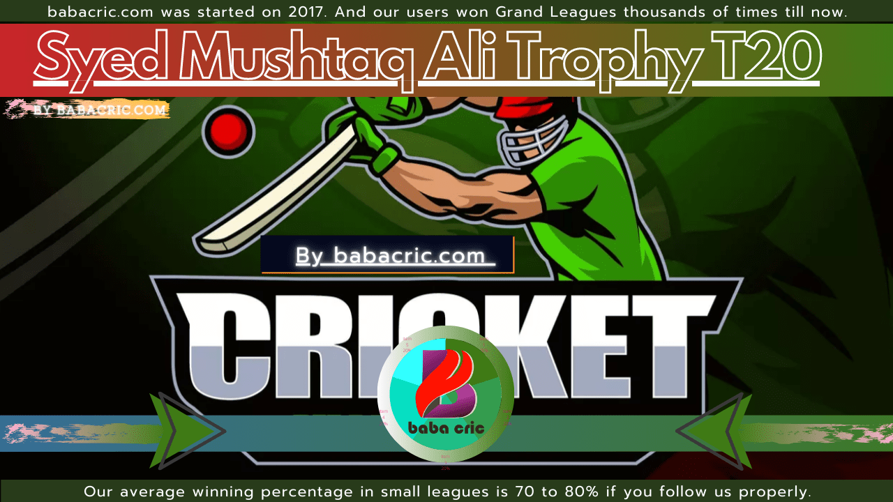 TN vs HIM (Syed Mushtaq Ali Trophy T20)
