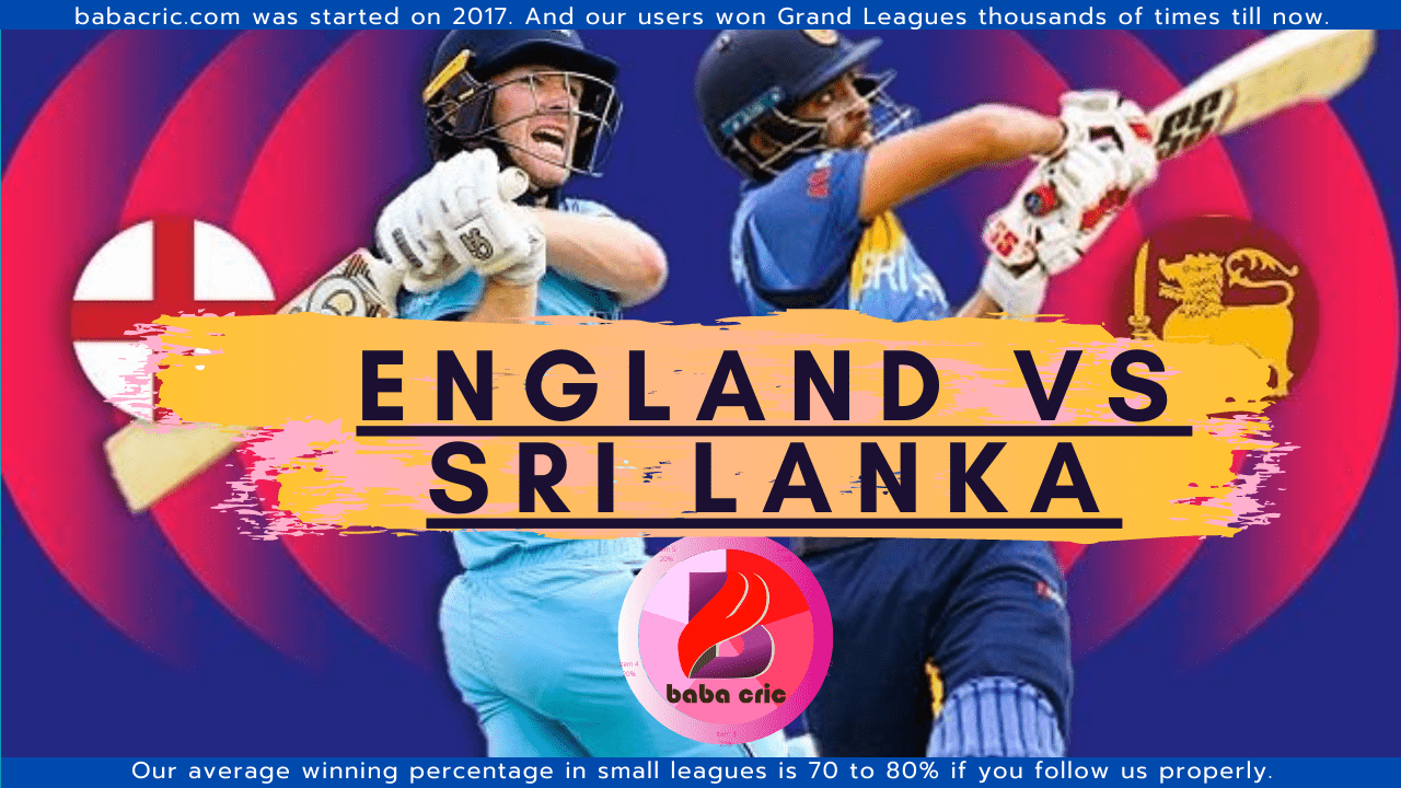 SL vs ENG (England Tour Of Sri Lanka 2021)