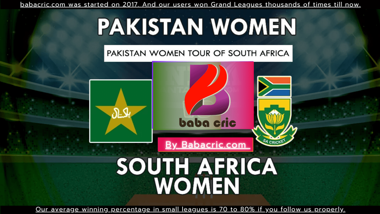 SA-W vs PK-W (SA Women vs Pakistan women-2021)