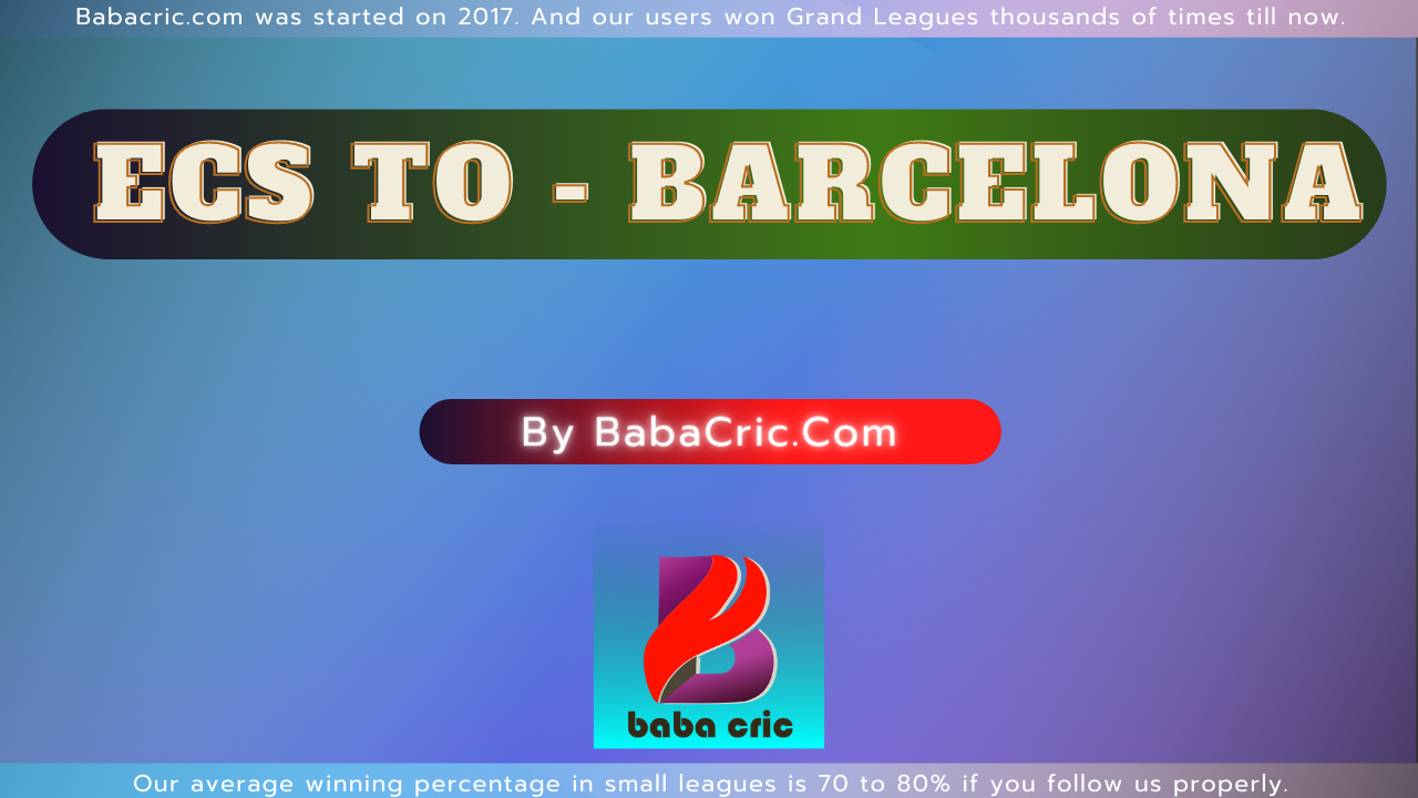 RIW vs BAR (ECS T10- Barcelona)