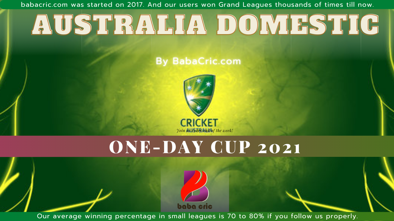 WAU vs SAU (Australia Domestic One Day Cup 2021)