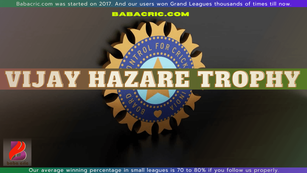 PUD vs MUM (Vijay Hazare Trophy 2021)