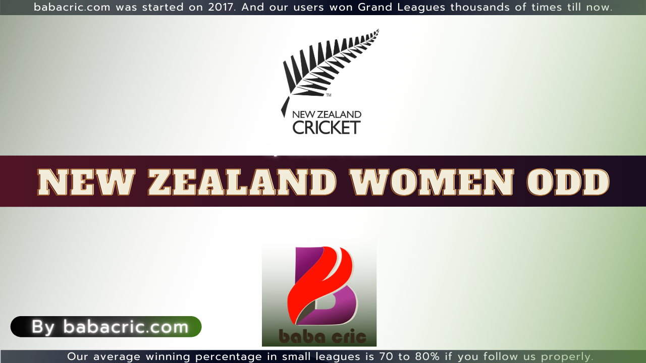 New Zealand Women ODD 2021