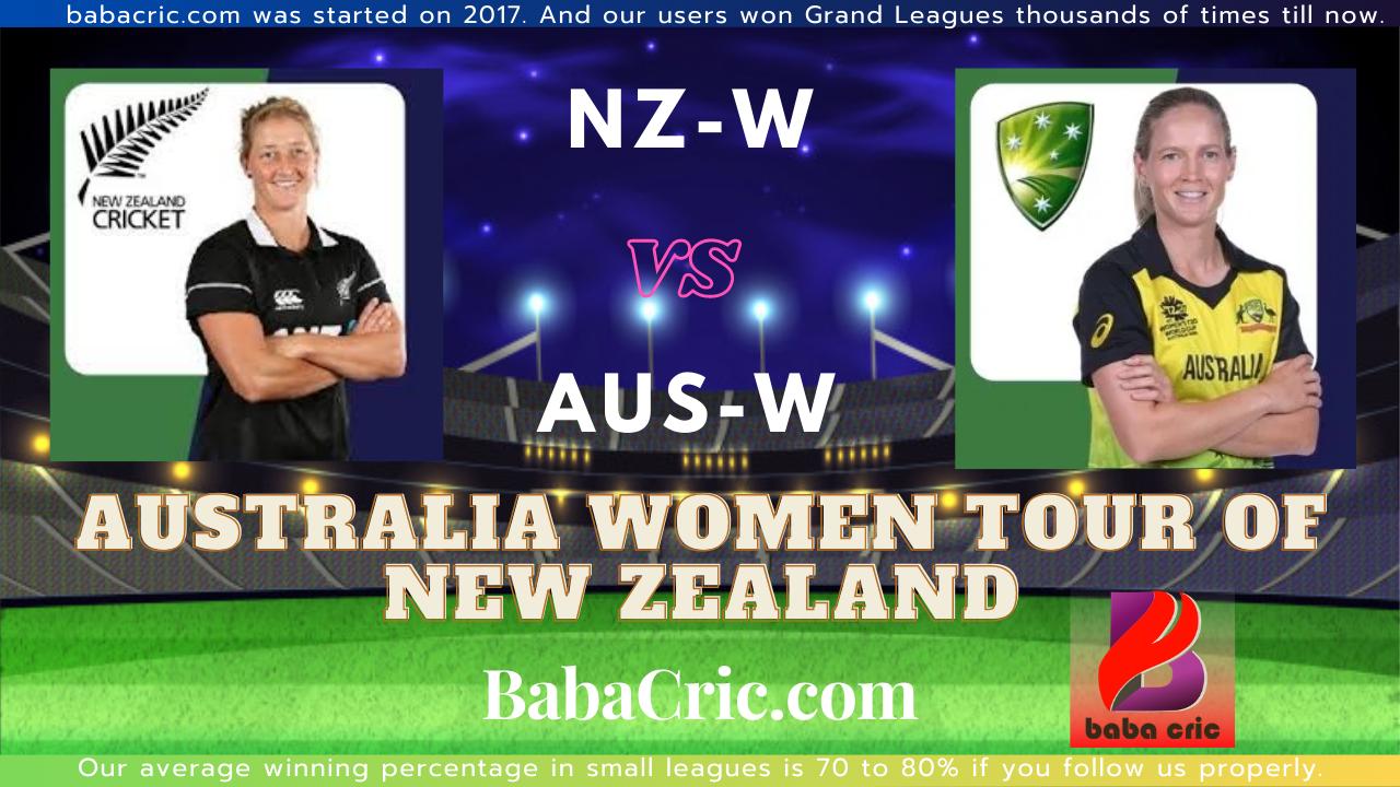 NZW vs AUW 3rd T20I
