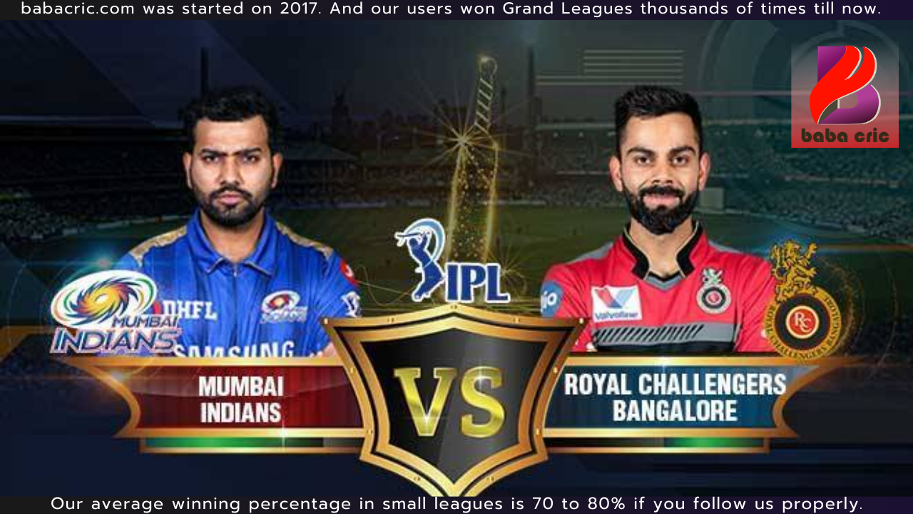 MI vs RCB - 1st T20 (IPL 2021)