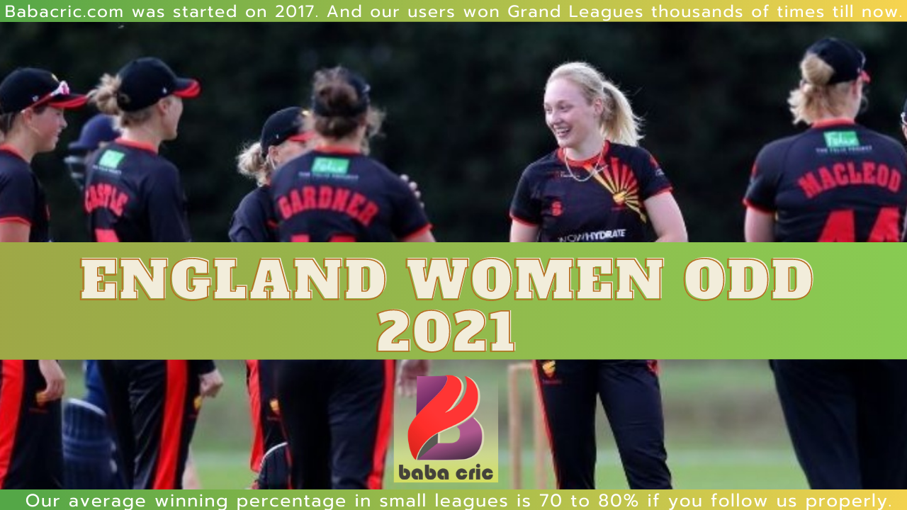 England Women ODD 2021