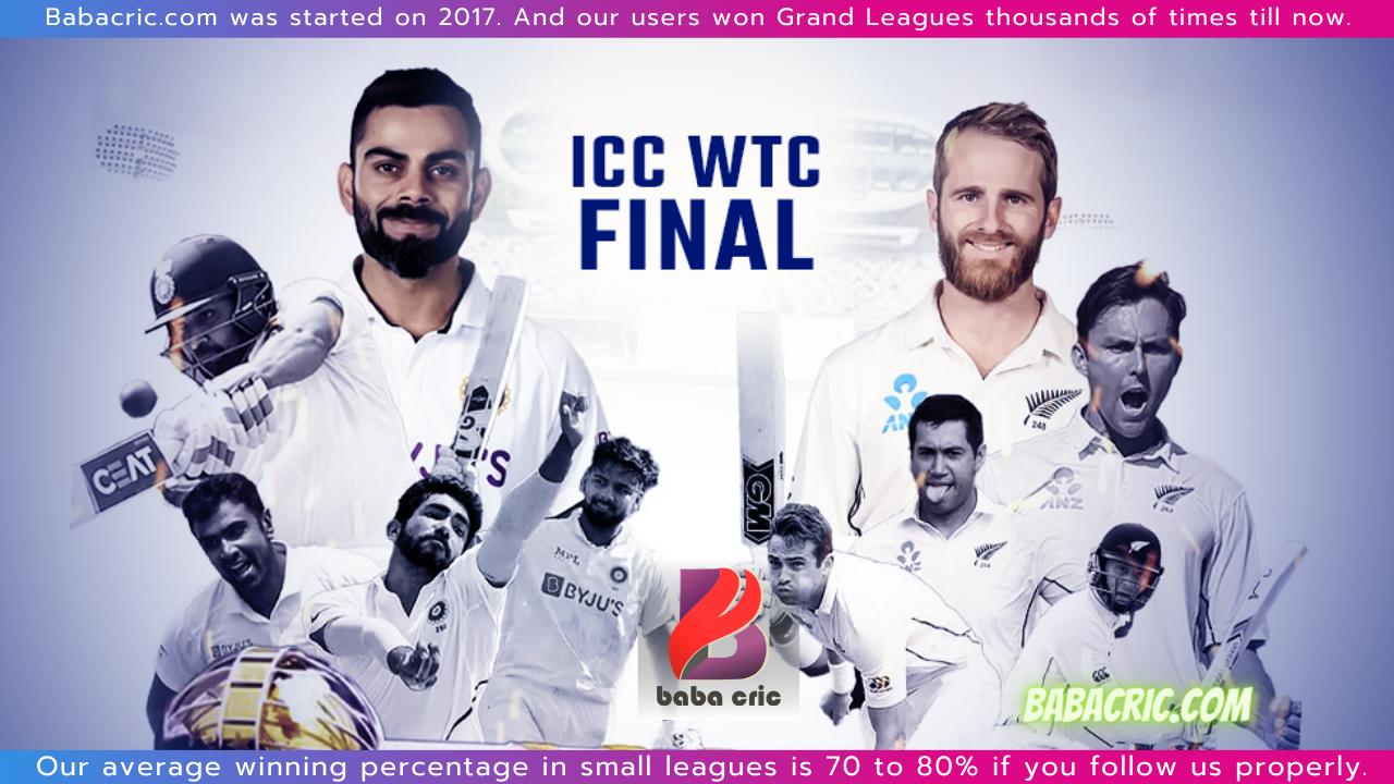 IND vs NZ  (WTC final 2021)