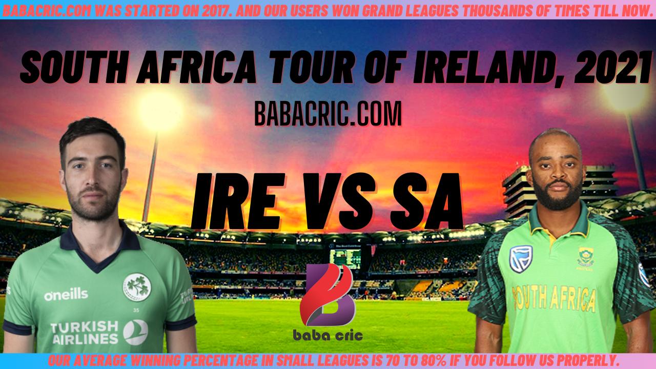 IRE vs SA 5th T20I Dream11 Prediction | IPL 2020 Team | Live Score
