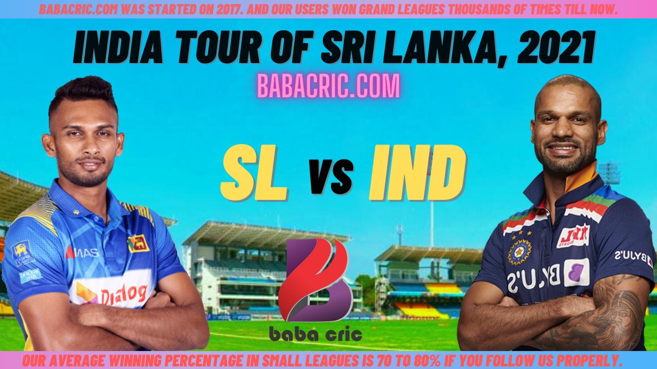 SL vs IND 3rd ODI Dream11 Prediction | IPL 2020 Team | Live Score